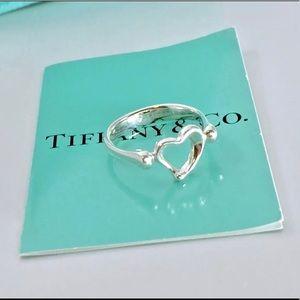 Authentic Tiffany & Co Elsa Peretti OpenHeart Ring